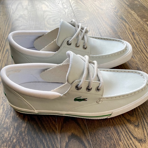 NWOT Men's Lacoste Shakespeare boat shoes size 11